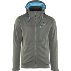 Meru Ystad Softshell Jacket Men Dark Shadow